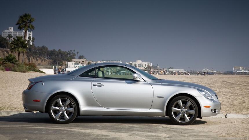 Los 15 carros más horrorosos de todos los tiempos 13.Lexus-SC_430-2010-1...