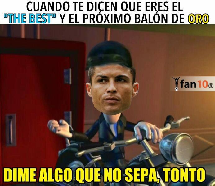 Cristiano Ronaldo marcó gol y los memes se rindieron a sus pies dqy9detu...