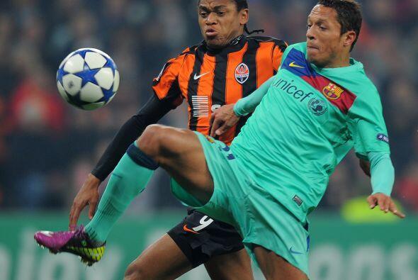 Adriano recibió la oportunidad de mostrar su valía en la m...