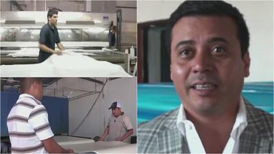 En México hay una empresa que recibe a trabajadores inmigrantes que regr...