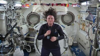 El diálogo entre estudiantes de Florida y la primera astronauta cubanoestadounidense en el espacio
