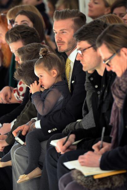 En primera fila, ¿qué tal? No cabe duda que la familia Bec...