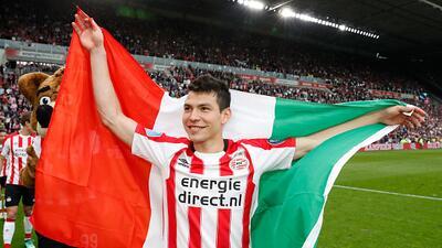 En fotos: Hirving Lozano es campeón de la Eredivisie con el PSV