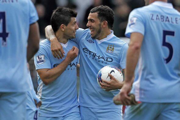Qué monstruos estos argentinos del Manchester City.