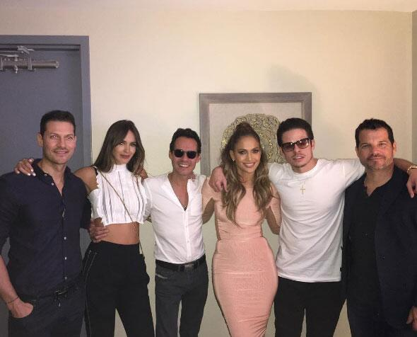Inclusive, Shannon y Marc fueron a ver el show de Jennifer a Las Vegas e...