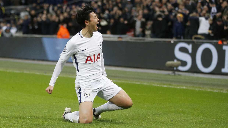Heung-Min Son es el segundo mejor goleador del Tottenham en esta tempora...