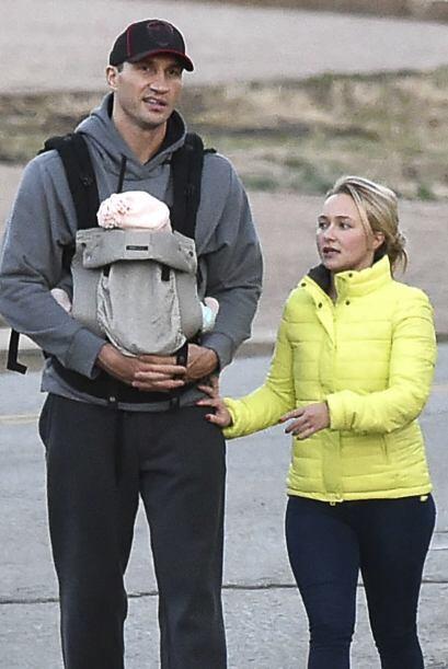 Hayden Panettiere nos dejó ver a su bebé, aunque solo por un ratito.