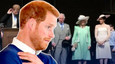 El príncipe Harry lidió con una amenaza muy real y dolorosa en su reaparición tras la boda