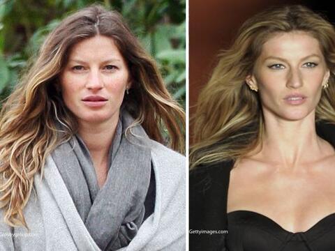 Muchas creen que las modelos siempre están bellas y hermosas, per...