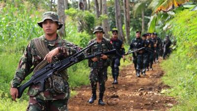 Hombres armados secuestraron a turistas en un resort de Filipinas