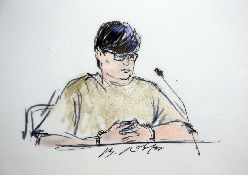 Enrique Márquez da testimonio en los tribunales