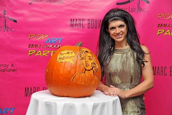 Y como ya se acerca Halloween, pues ahora sí le tocó a Teresa vivir su m...