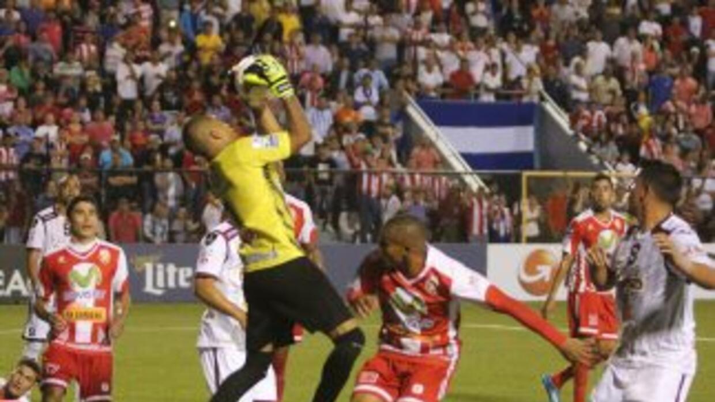 El encuentro entre Real Estelí y Saprissa se disputó en el Estadio Indep...