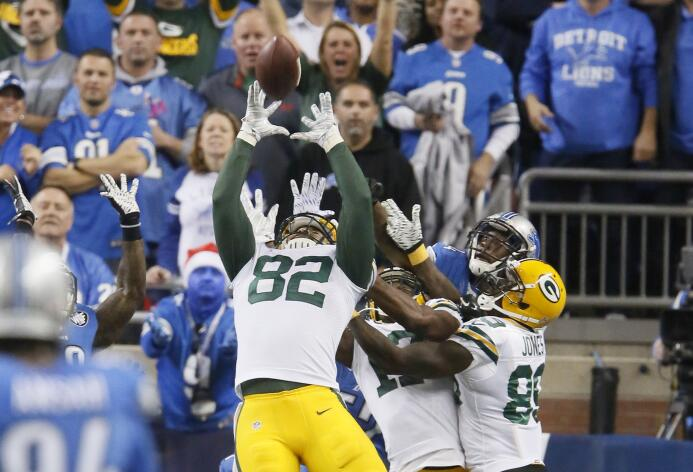 Los Green Bay Packers vencieron 27 - 23 a los Detroit Lions en milagroso...