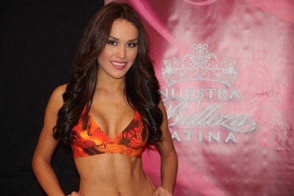 Bárbara Falcón, elegida Nuestra Belleza Tamaulipas 2013 y quien fuera fi...