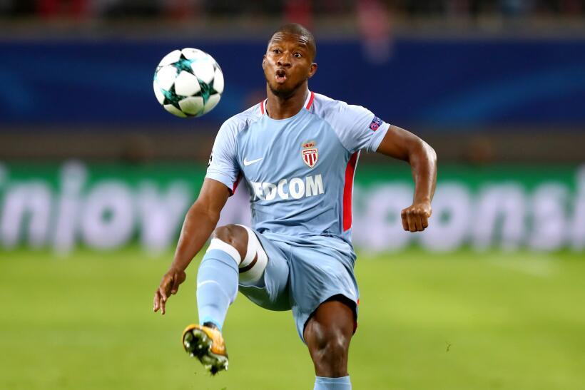 El senegalés Almamy Touré, del Mónaco, ha tenido pocos minutos en esta t...