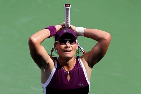 Samantha Stosur se mostró incrédula tras clasificarse a semifinales.