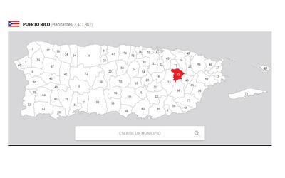 puerto rico mapa gurabo