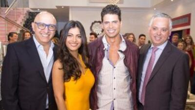 El elenco de la telenovela se reunió para comenzar las grabaciones.