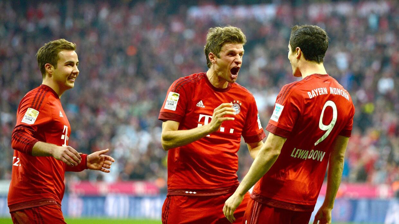 Bayern Munich destrozó a Borussia Dortmund