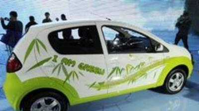 Vitrina de autos 'verdes' en China