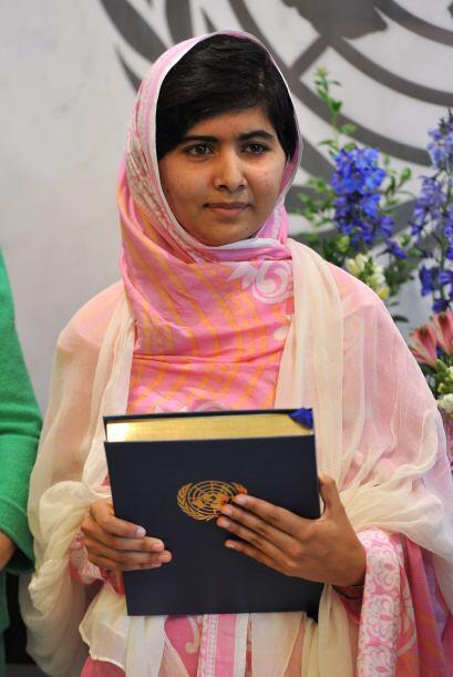 La joven paquistaní Malala Yousafzai, de 16 años, es otra de las Líderes...