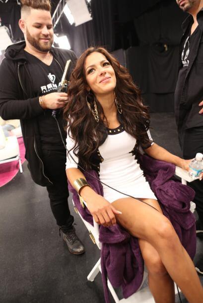 Este detrás de cámaras tuvo de todo: Thalía, llorad...