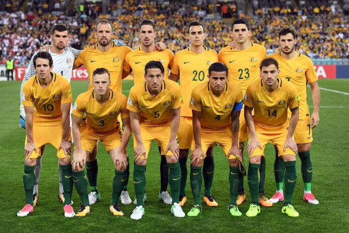 20. Australia (AFC) - 1.044.091 seguidores.