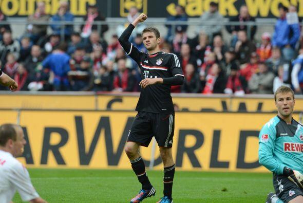 El jugador del Bayern Munich convirtió dos goles en contra del descendid...