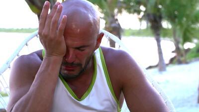 Julio Camejo rompió en llanto tras recordar la muerte de su padre
