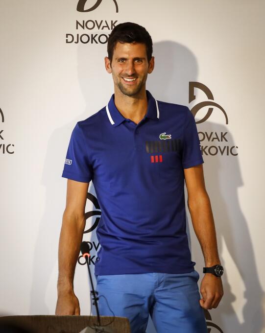 15. Novak Djokovic (Tenista) - ingresos por 38,5 millones de dólares en...