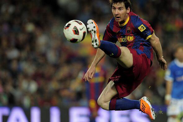 Desterrada la figura del ariete tradicional, Messi se erigió como falso...