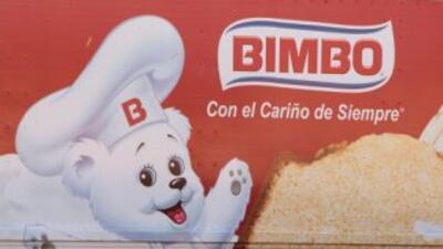 Un vehículo del mexicano Grupo Bimbo.