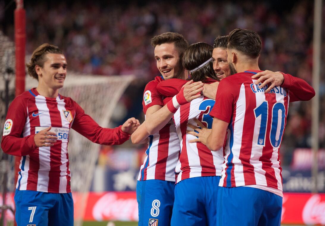 9. Atlético de Madrid (España - UEFA) / 239 puntos