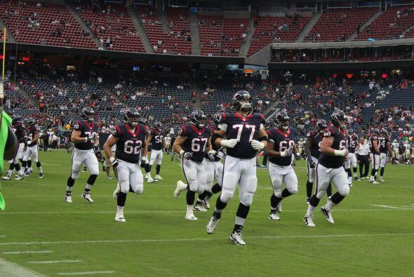 Los Texans se pusieron las pilas pero no pudieron con los Saints