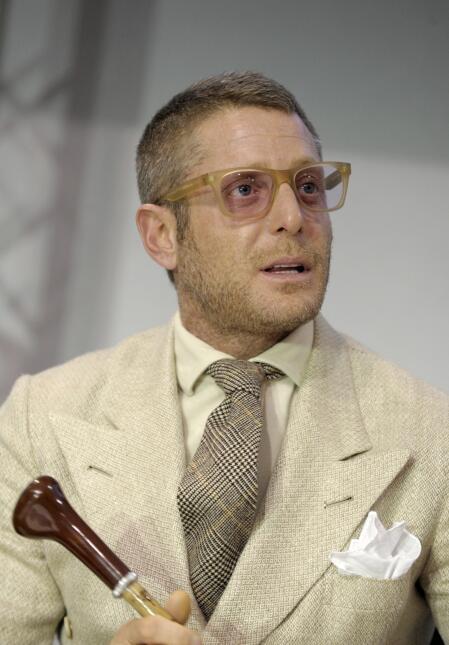Lapo Elkann, heredero de Fiat.