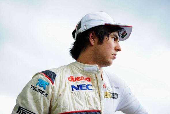 El mexicano del equipo Sauber quería olvidar la descalificación que sufr...