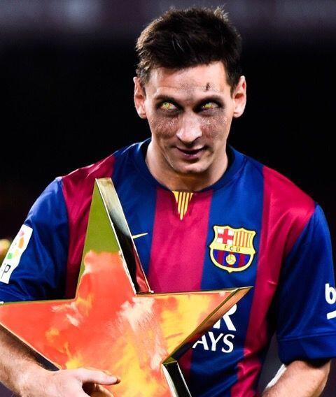 Lionel Messi, el astro argentino que lo ha ganado todo con el Barcelona...