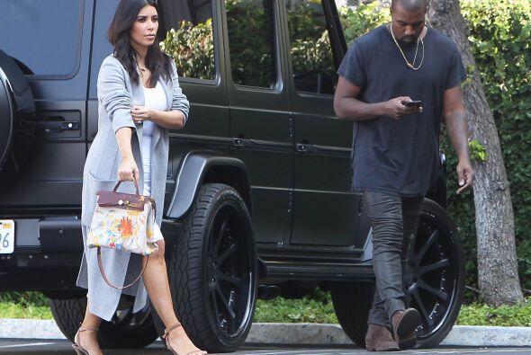 Siempre presume su cuerpazo, diamantes o amor con Kanye West.
