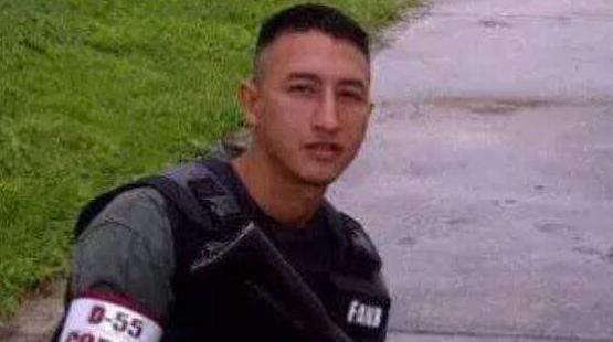 El sargento segundo Neomar Sanclemente Barrios falleció el pasado 19 de...