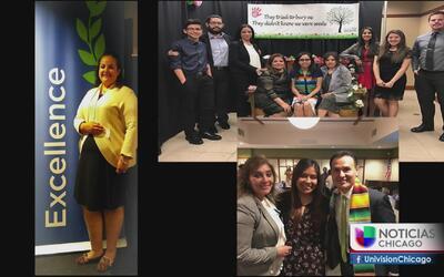 Estudiantes latinos de la Universidad de Aurora realizan banquete de gra...