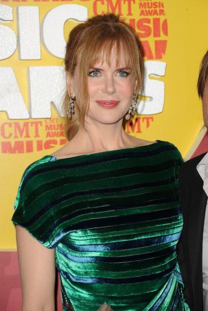Kidman también es conocida por tener muy buen gusto a la hora de vestir.