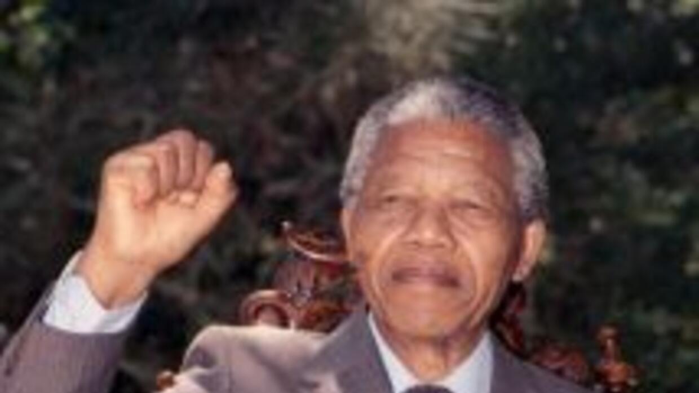 El fallecido expresidente de Sudáfrica, Nelson Mandela.