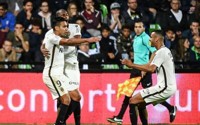 Falcao llegó a cinco goles en la temporada.