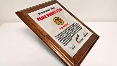 Galardón 'Premio de la Paz 2016'
