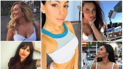Georgina lidera a las hermosas mujeres detrás del éxito de los jugadores del Real Madrid