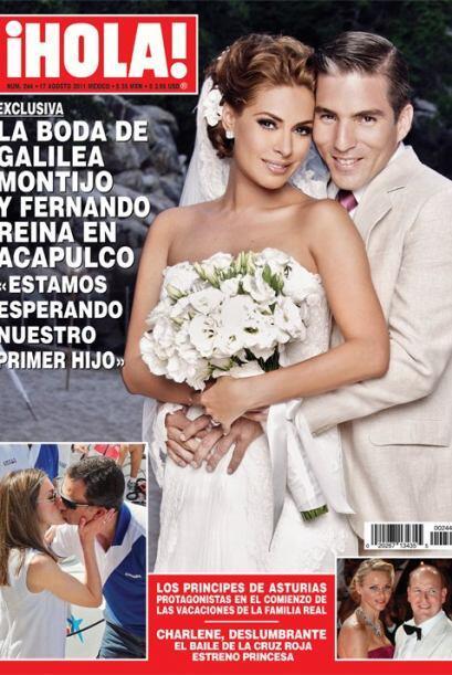 Y que tal la repentina boda de Galilea Montijo, que llegó al altar  emba...