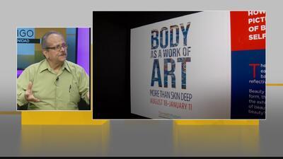 El cuerpo como una obra de arte en el Museo de la Salud de Houston