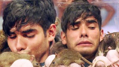 Miguel Ángel Espinoza regresó al Inframundo y ahora las ratas fueron sus rivales (pero besó a una)