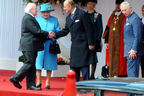 El viaje del presidente irlandés, que llegó el lunes y permanecerá en Re...